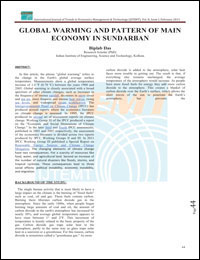 global wraming main pattern eoconomy sundarban